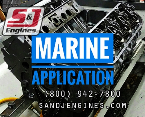 rebuilt marine engines 2004 GMC Volvo Penta
